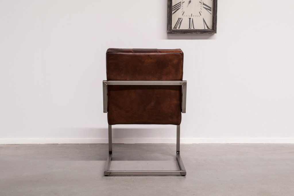 Industrial dining room chair Arad | industrial square