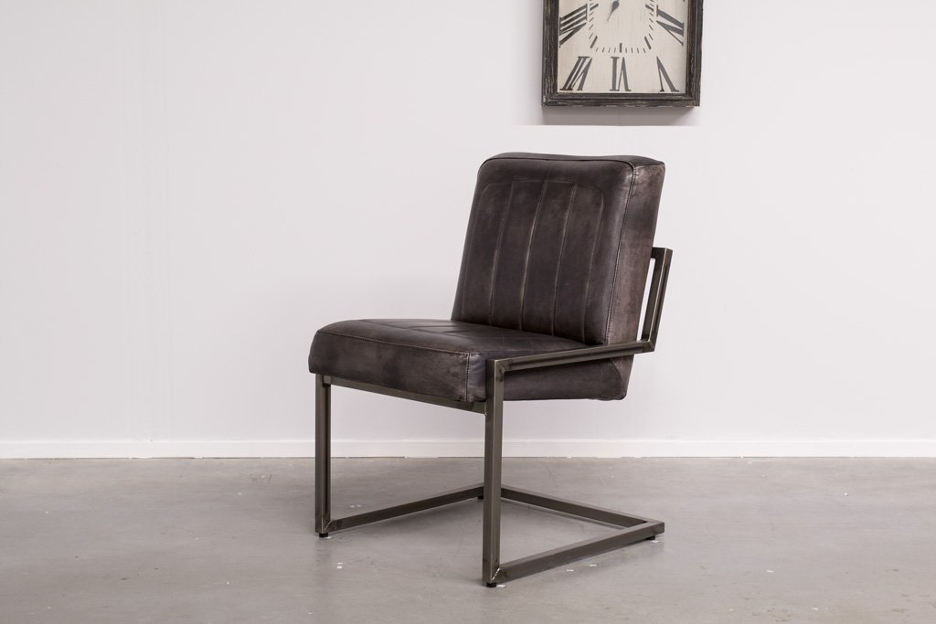 Industrial dining room chair Brashov | industrial square