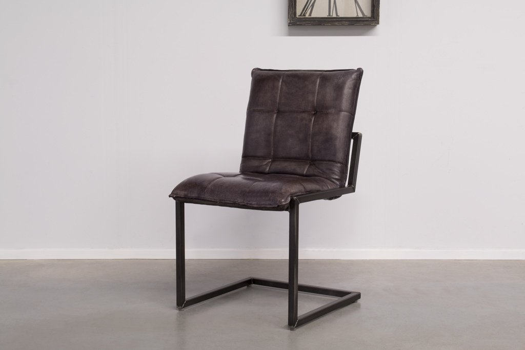 Industrial dining room chair Capo | industrial square