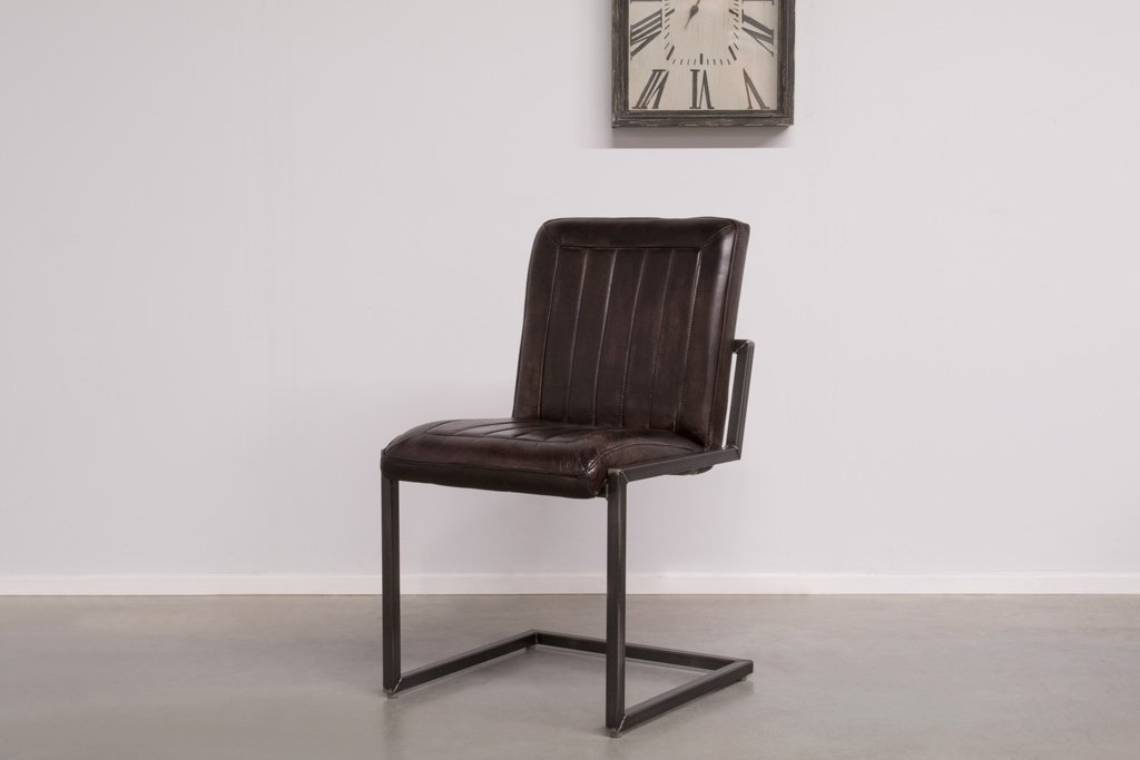 Industrial dining room chair Laura | industrial square