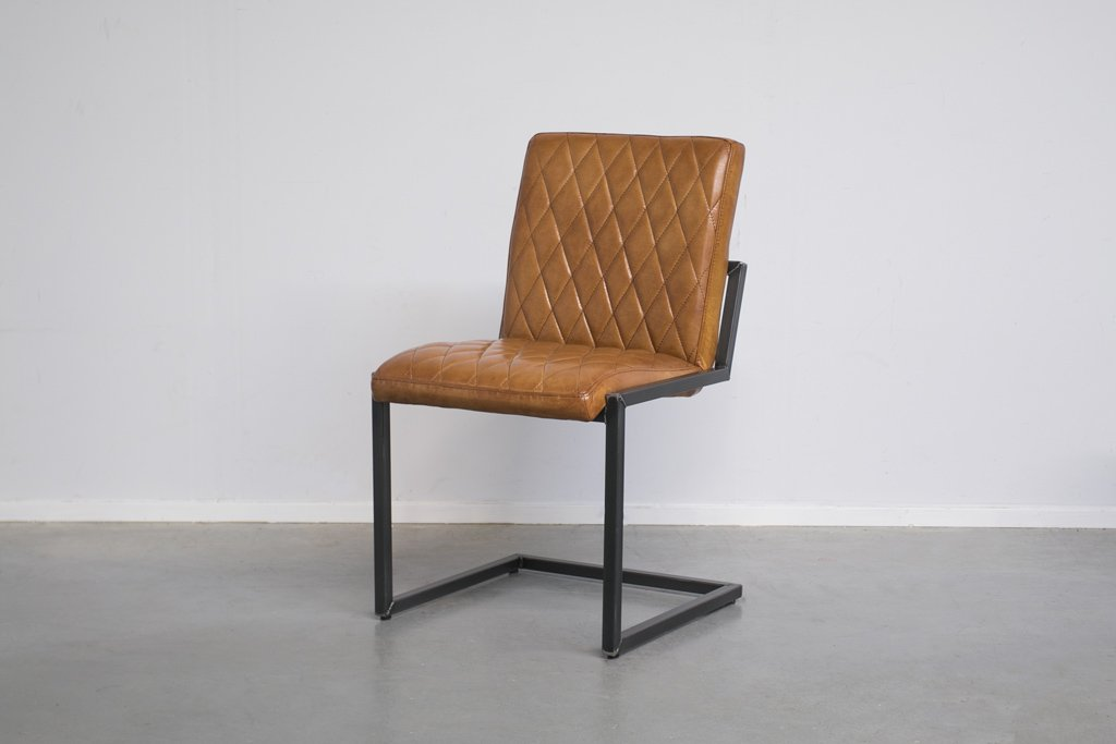Industrial dining room chair Mary | industrial square