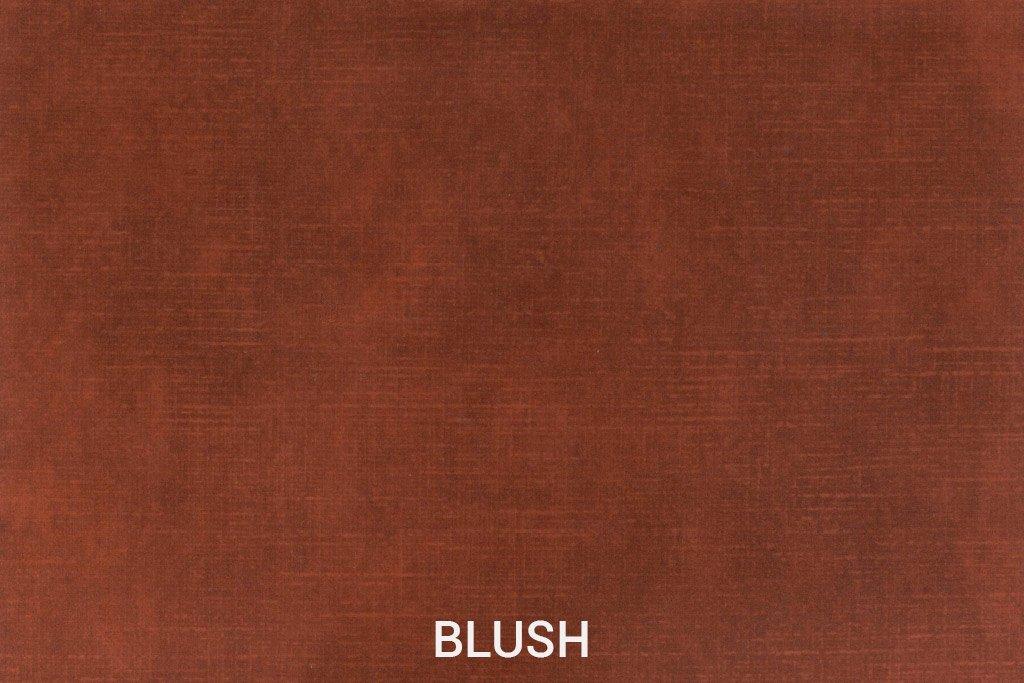 Kleurstaal Velvet stof Blush