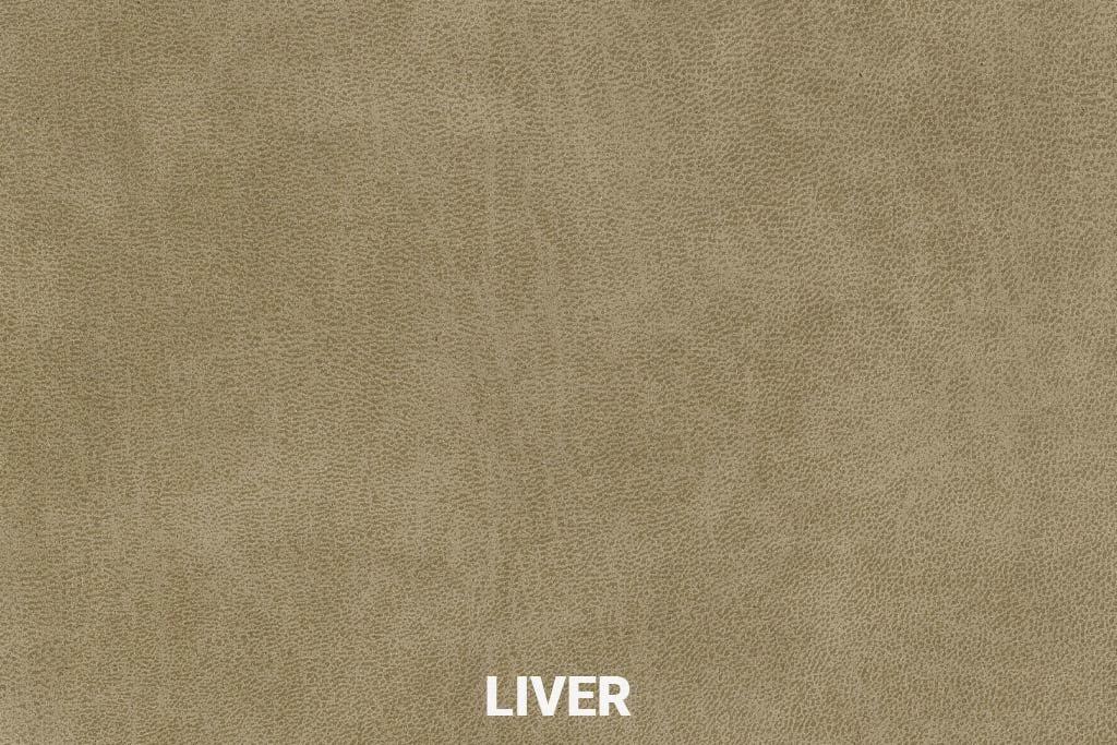 Kleurstaal Eco-leder Bull Liver