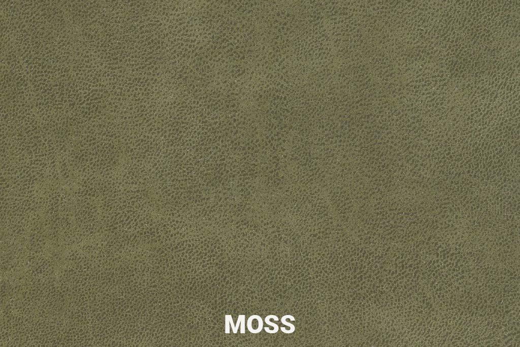 Kleurstaal Eco-leder Bull Moss