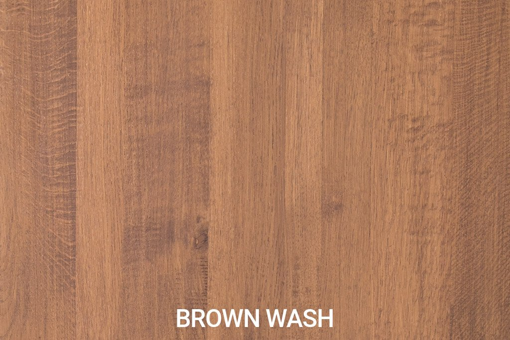 Kleurstaal Robuust eiken Brown Wash