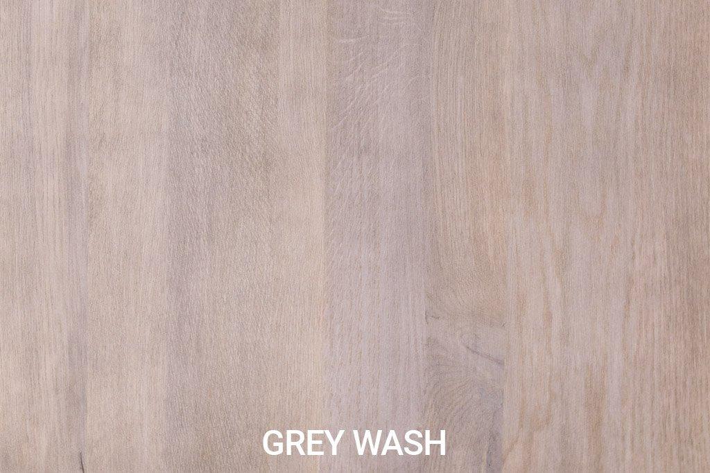Kleurstaal Robuust eiken Grey Wash