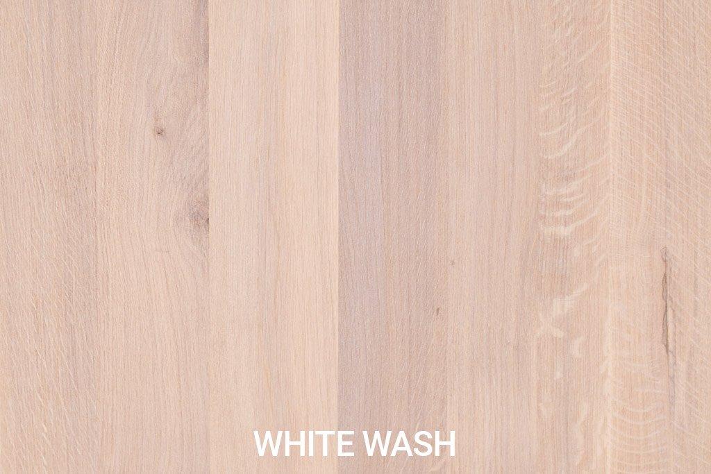 Kleurstaal Robuust eiken White Wash
