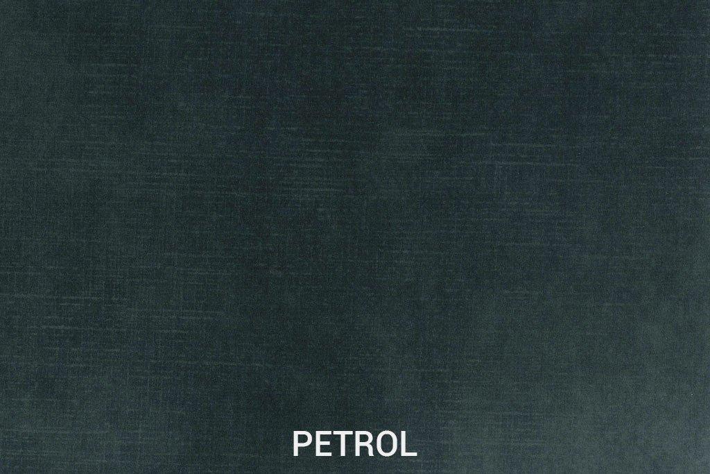 Kleurstaal Velvet stof Petrol