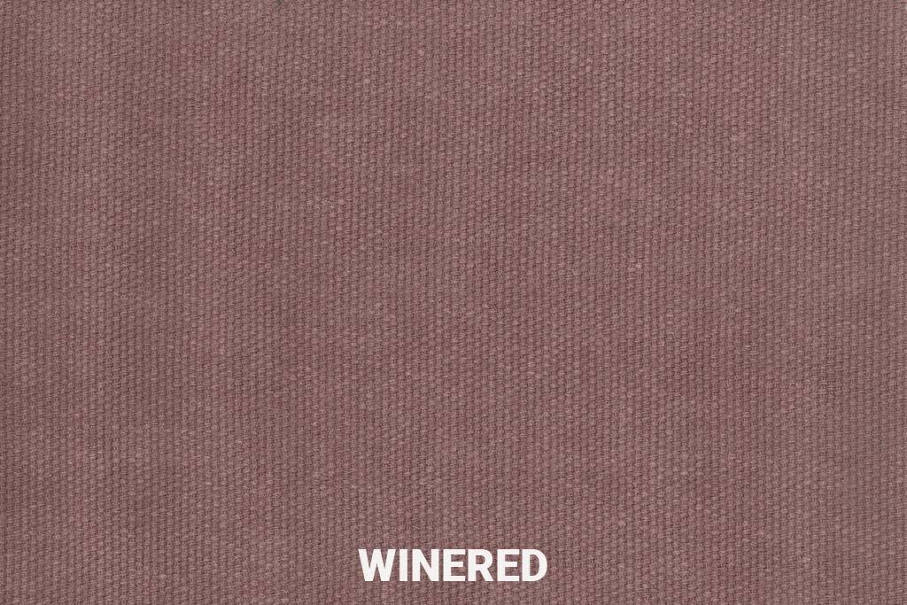 Kleurstaal Jeans stof Winered