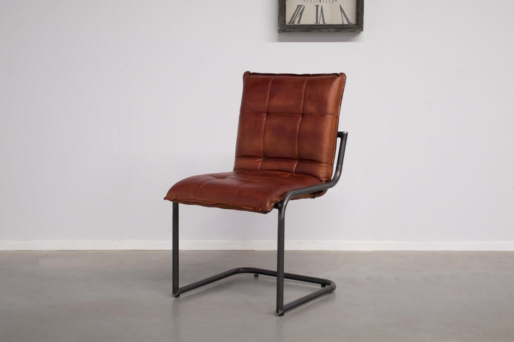 Industrial dining room chair Capo | industrial round
