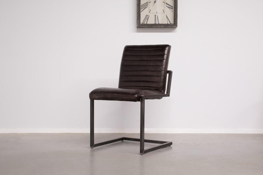 Industrial dining room chair Sabina | industrial square