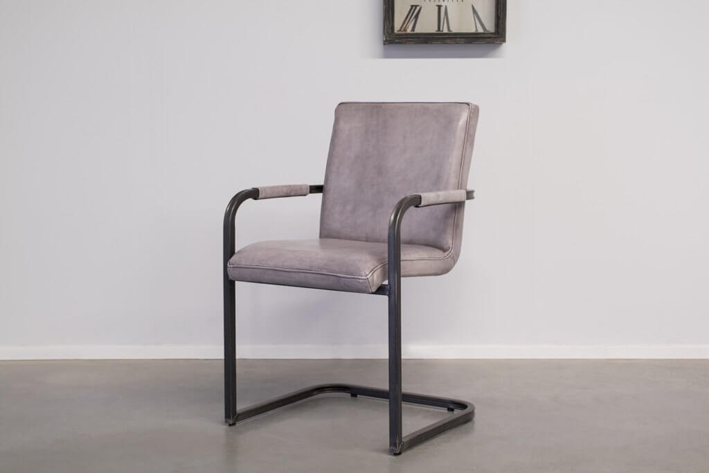 Industrial dining room chair Soem | with armrests | industrial square