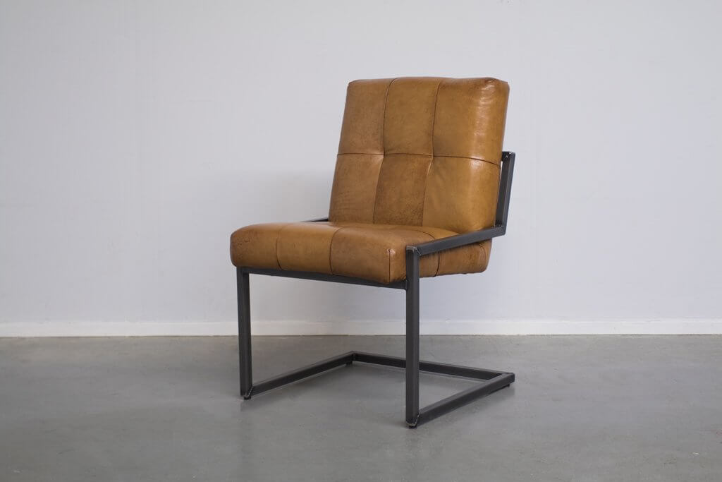 Industrial dining room chair Olli | industrial square